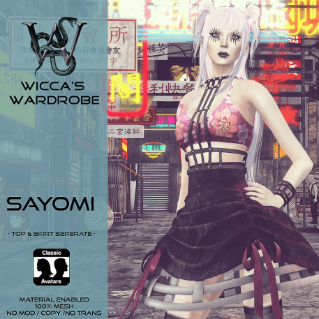 Wicca's Wardrobe - Sayomi Teaser for On9 July 2016
