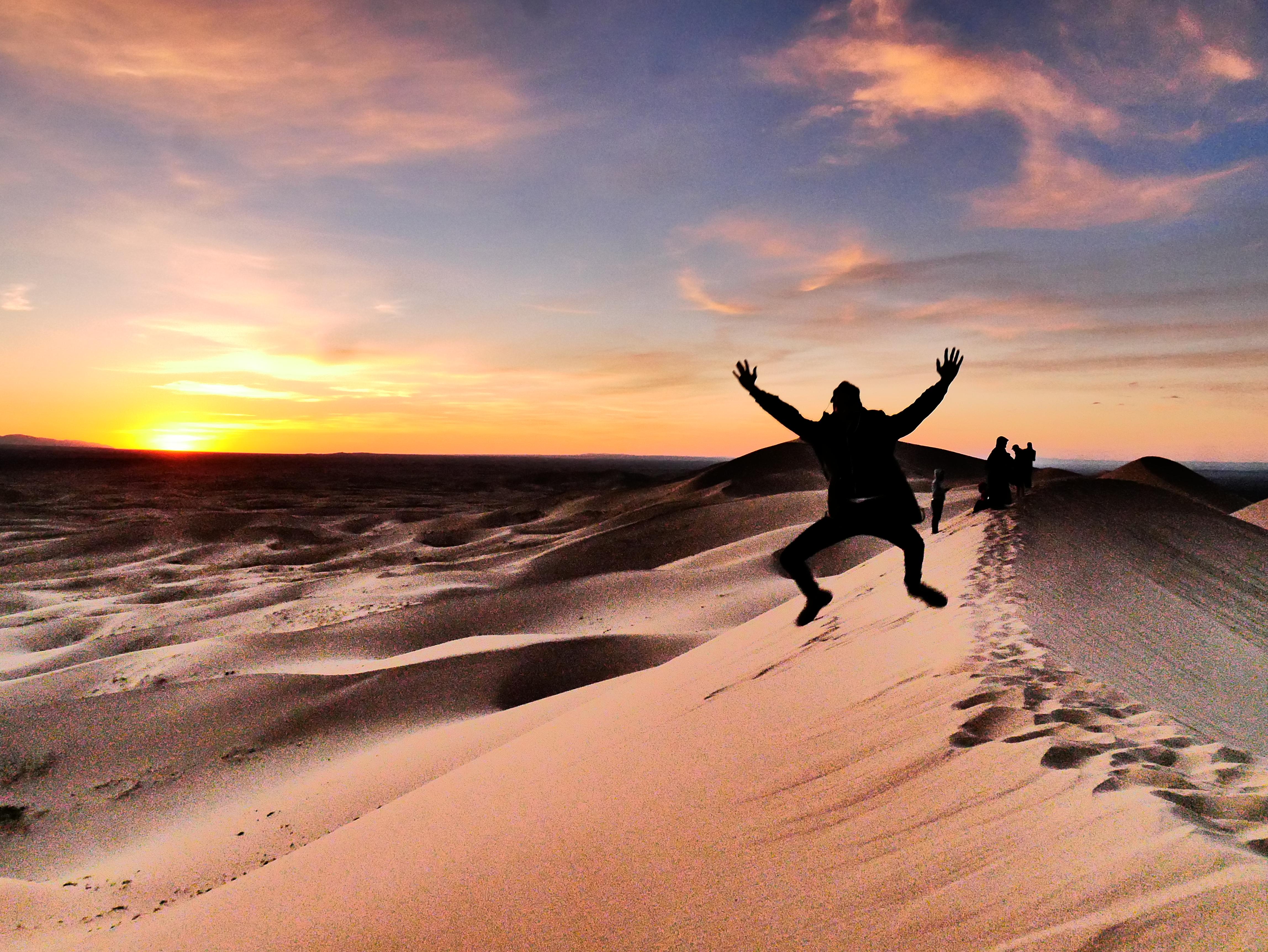 Les dunes de sable de Kangorym