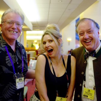 Philip O'Hanlon with Steve McCormack and Fiona Joy Hawkins at RMAF 2015