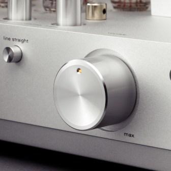 Luxman SQ-N100 volume knob