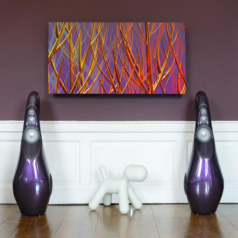 Vivid GIYA G3 with <em>Purple with red and yellow</em> from the Symbiosis Collection by Yuroz