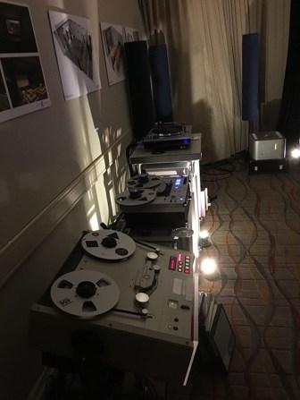 Otari, SonoruS & Luxman PD-171AL