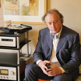 Philip O'Hanlon in the Eclipse room
