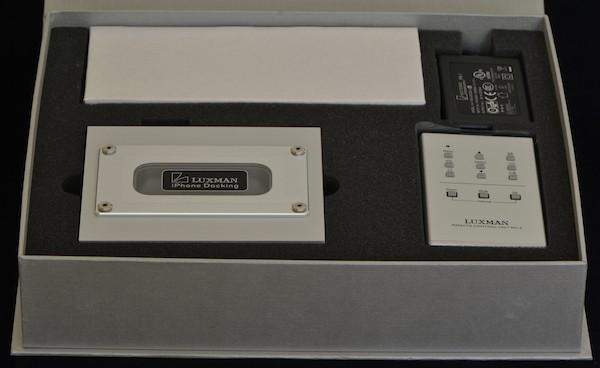 Luxman D-100r iPhone / iPod Dock