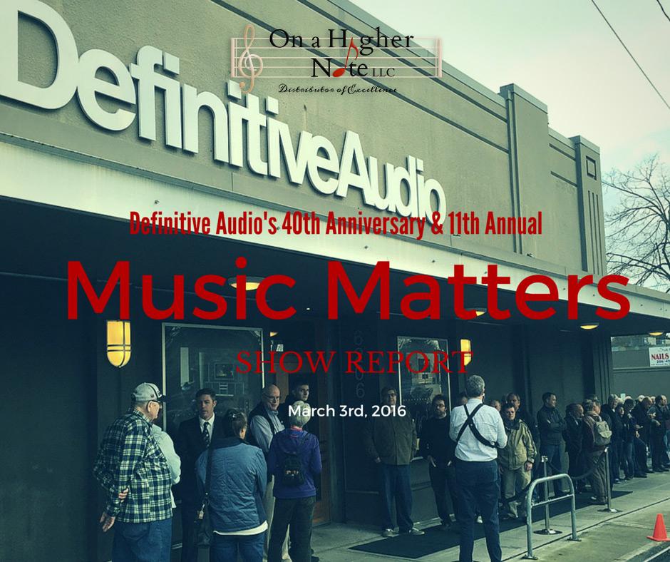 music matters show report by philip o hanlon