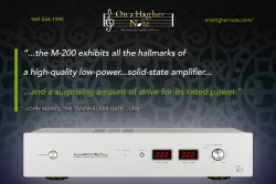 Luxman M-200 review by John Marks