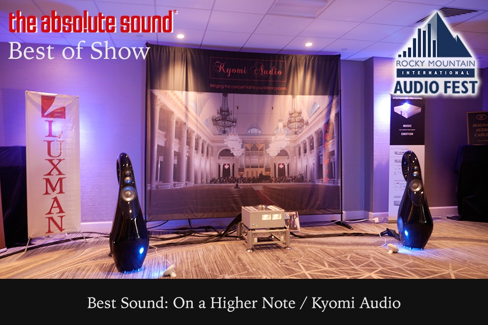 The Absolute Sound Best of Show RMAF 2016