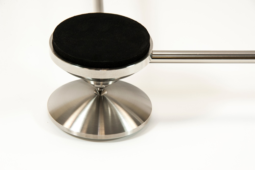 artesania treated glass electronic floor platform detail