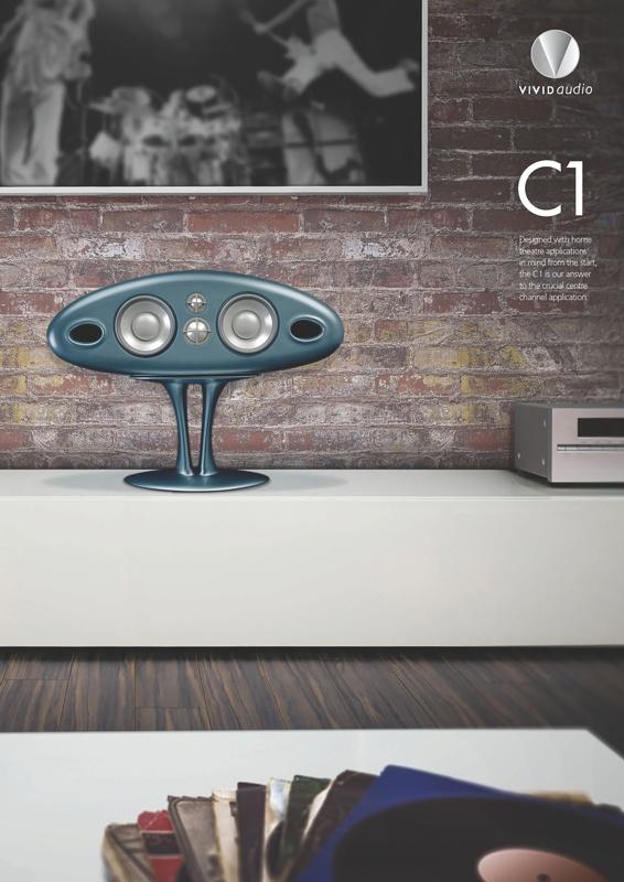Vivid Audio Oval C1 loudspeaker