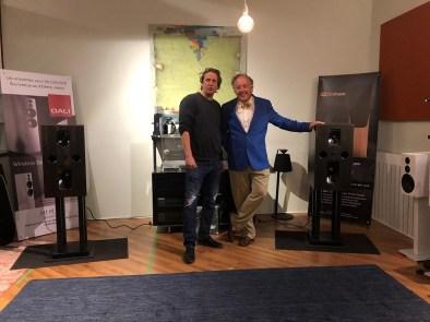 Rob Sutcliffe and Philip O'Hanlon