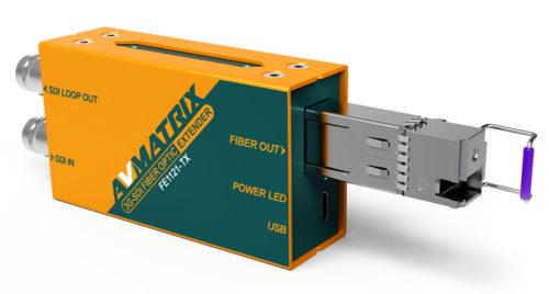 AVMATRIX Converters 3G-SDI Fiber Optic product image