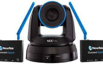 NewTek NDI PTZ Camera & Connect Spark product image