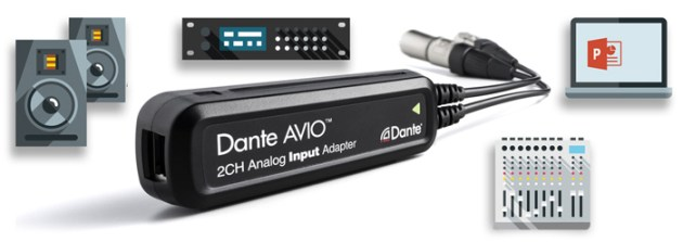 Audinate Dante AVIO Adapters
