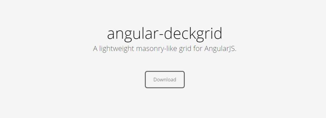 Angular Deckgrid