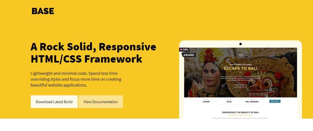 Base - Super Simple HTML CSS Frameworks