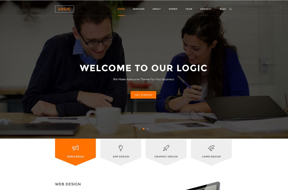 Free Multipurpose Business PSD Template