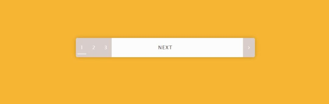 Pagination Hover Animation html table pagination