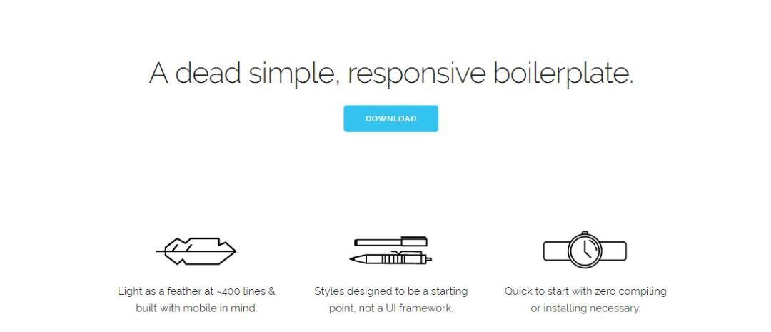 Skeleton - Responsive CSS Boilerplate