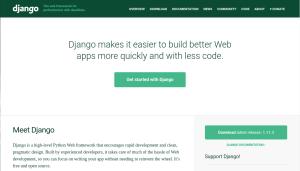 Django Python Frameworks