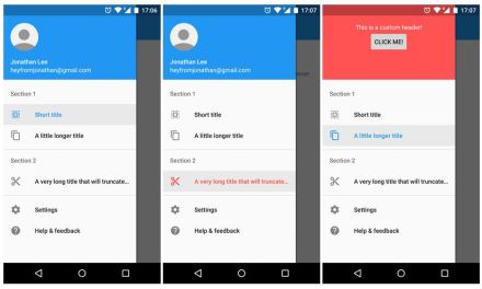 Best Android Navigation Drawer Libraries