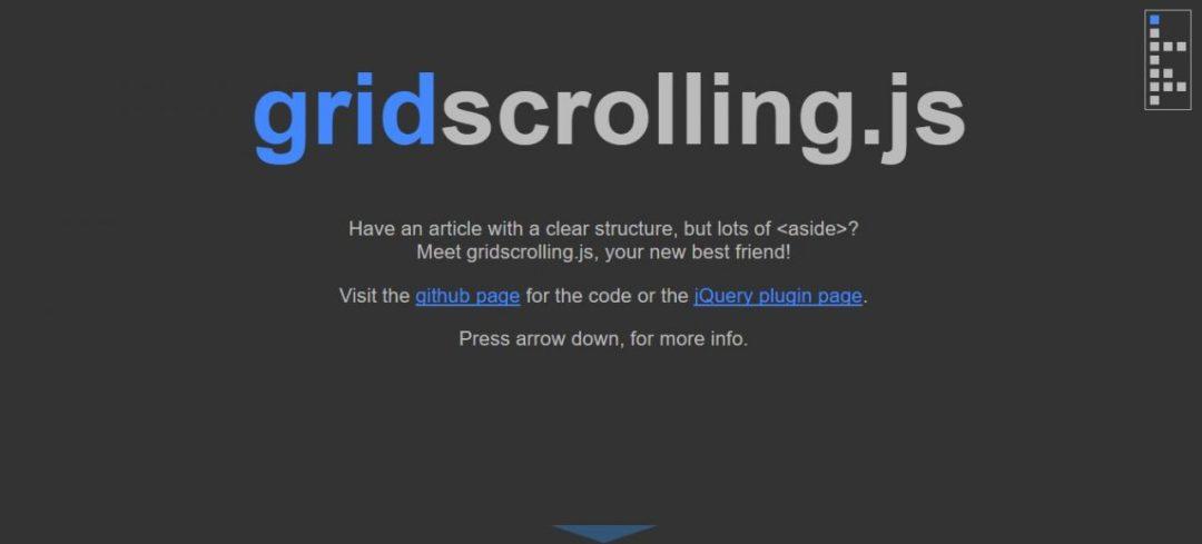 Grid Scrolling
