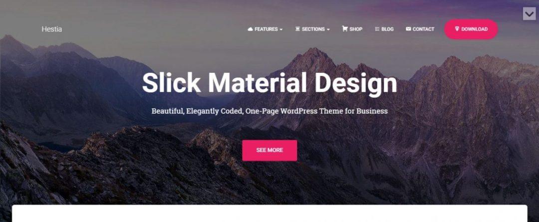 Hestia - Material Design Theme Framework