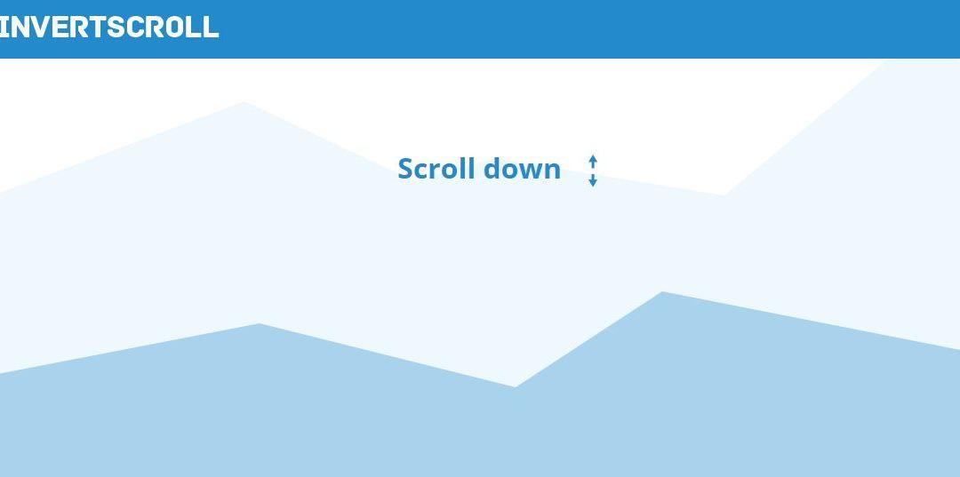 Jlnvert Scroll - Best jQuery Scrolling Plugins