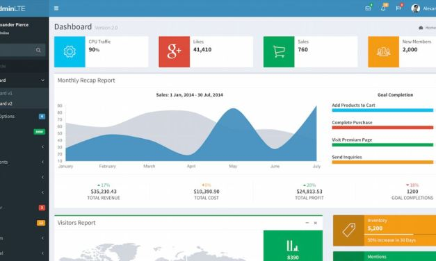 12+ Best Free AngularJS Admin Dashboard Themes