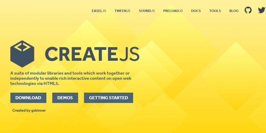 Create.js -Modular Libraries and Tools