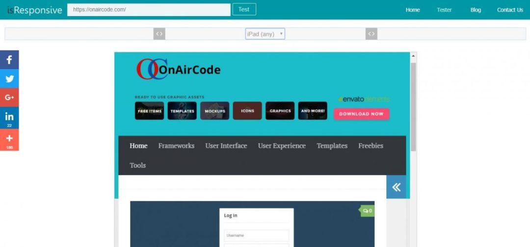 isResponsive - Website Tester