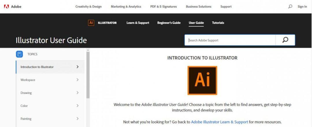 Adobe.com Illustrator Guide