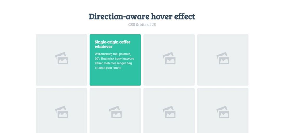 Direction- Aware 3D Hover Effects