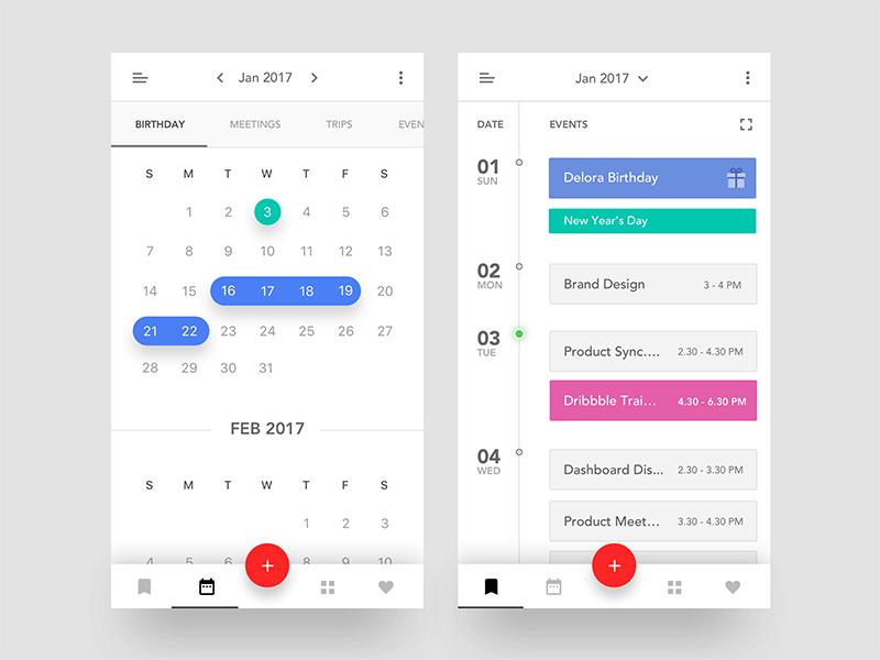 Event Calendar iOS App
