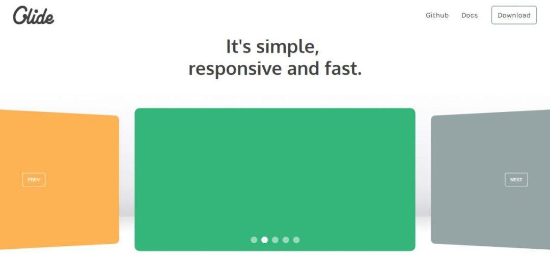 Glide - Simple Responsive jQuery Slider