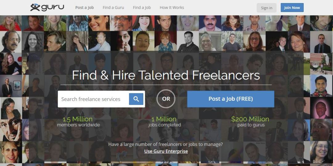 Guru - Find Freelance Jobs