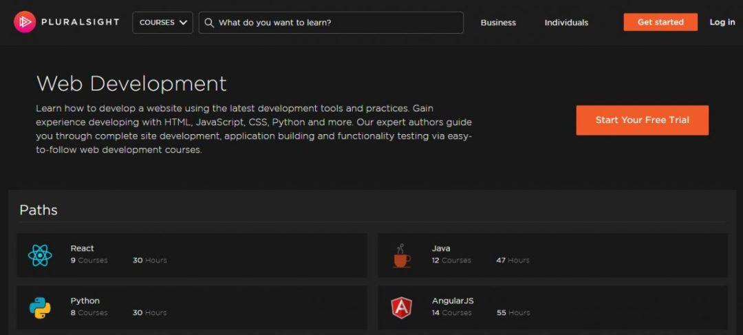 Pluralsite - Best Website to Learn Web Development
