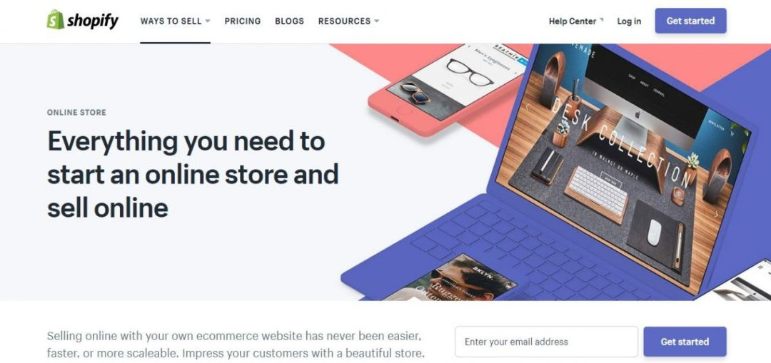 Shopify - Sell Product Online