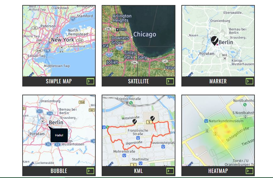 jHERE -Maps Made Easy