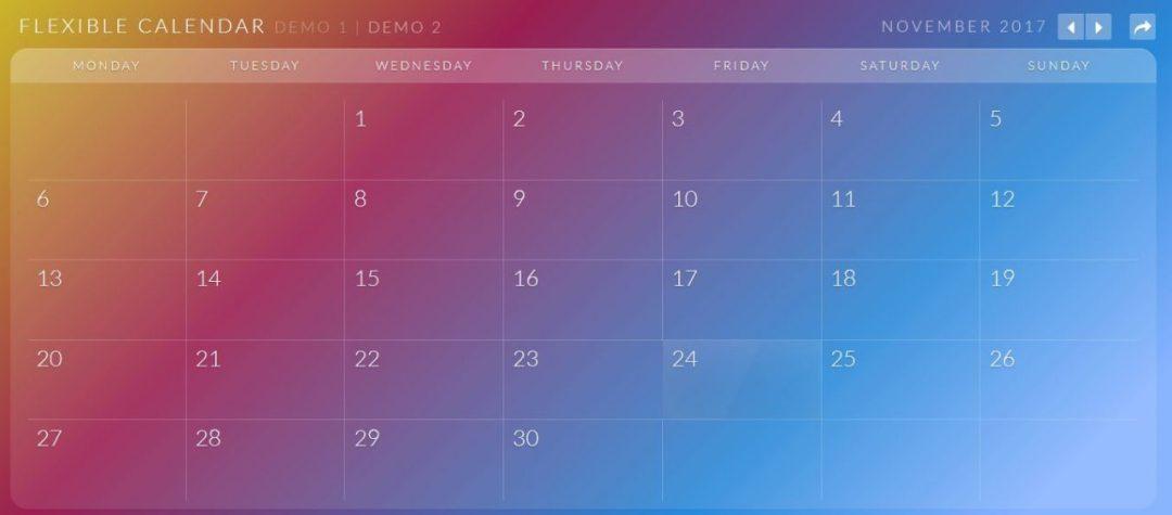 CalendarioCalendar Plugin