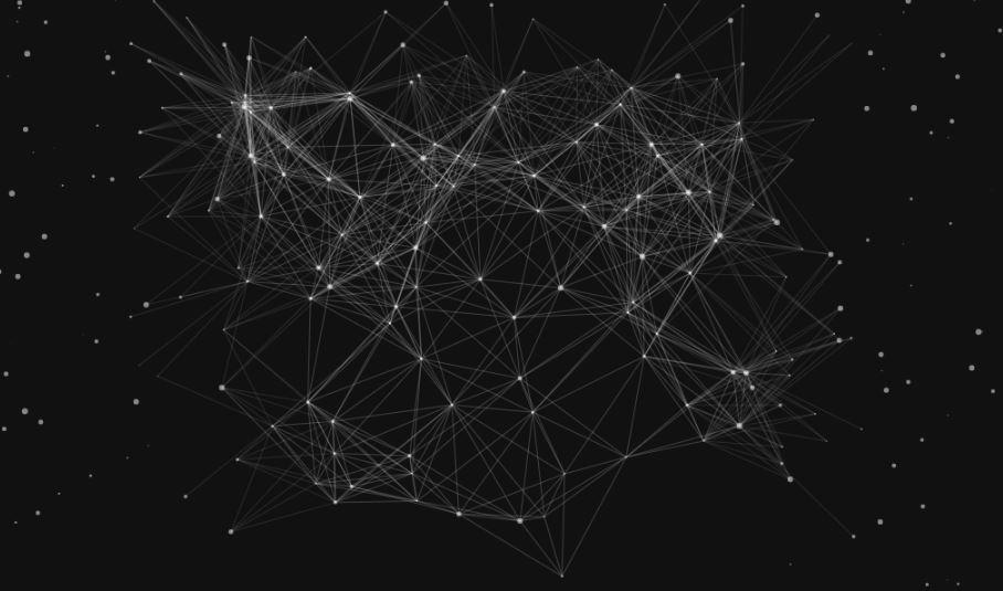 JavaScript HTML5 Canvas Animated Background