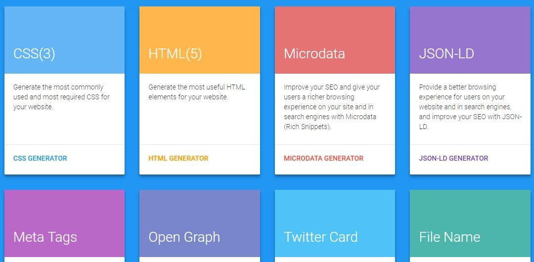 7 Best Code Generator for Web Designers