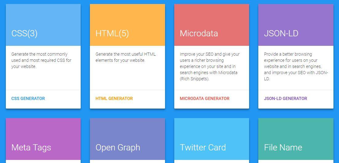 7 Best Code Generator for Web Designers