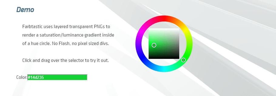 Farbtastic Color Picker