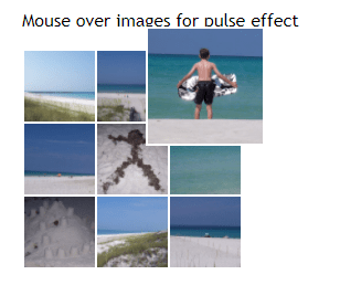 Mouse Over Images Effect
