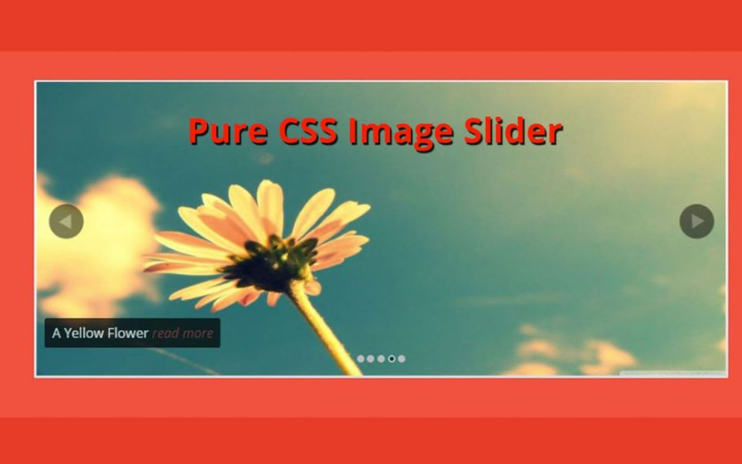 Pure CSS Image Slider