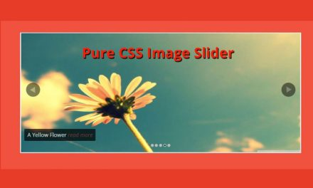 12+ Cool Pure CSS Image Slider