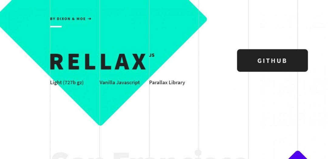Rellax - Lightweight JavaScript Parallax Library