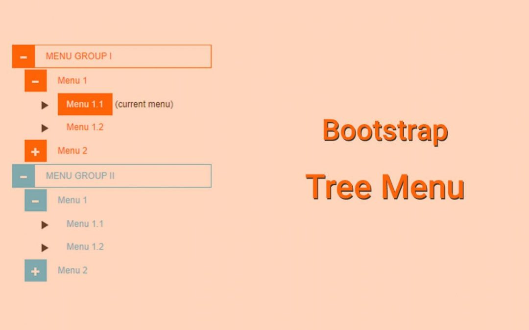 Bootstrap Tree Menu