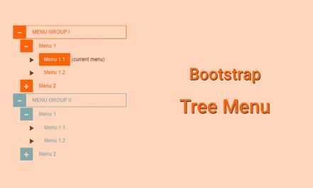 Bootstrap Tree Menu Code Snippet