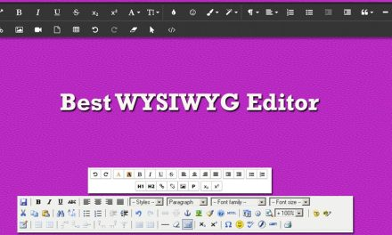 12+ Best JavaScript HTML5 WYSIWYG Editor